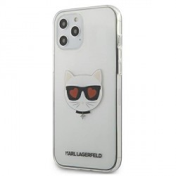 Karl Lagerfeld iPhone 12 Pro Max Hülle / Cover / Case Choupette Transparent KLHCP12LCLTR