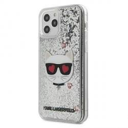Karl Lagerfeld iPhone 12 Pro Max Hülle / Cover / Case / Etui Glitter Choupette