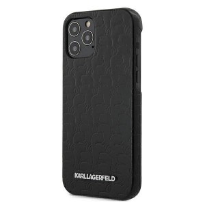 Karl Lagerfeld iPhone 12 Pro Max Hülle / Case / Cover schwarz KAMEO KLHCP12LPUKBK