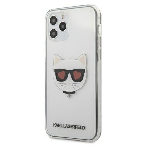 Karl Lagerfeld iPhone 12 / 12 Pro Hülle / Cover / Case Choupette Transparent KLHCP12MCLTR