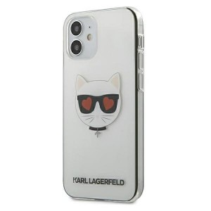 Karl Lagerfeld iPhone 12 mini Hülle / Cover / Case Choupette Transparent KLHCP12SCLTR