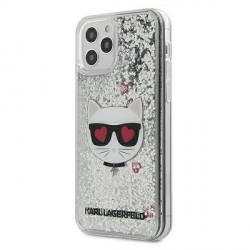 Karl Lagerfeld iPhone 12 mini Hülle / Cover / Case / Etui Glitter Choupette