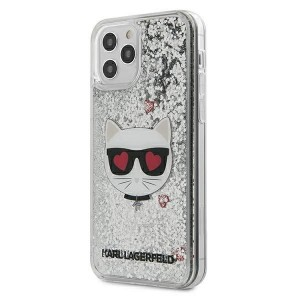 Karl Lagerfeld iPhone 12 mini Hülle / Cover / Case / Etui Glitter Choupette