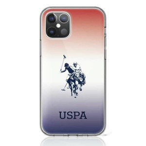 US Polo iPhone 12 mini 5,4 Hülle Gradient USHCP12SPCDGBR