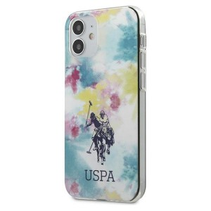 US Polo iPhone 12 mini 5,4 Hülle multicolor Tie & Dye USHCP12SPCUSML