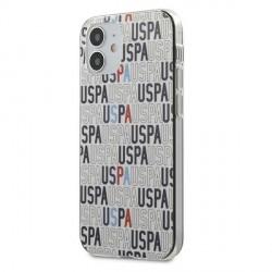 US Polo iPhone 12 mini 5,4 Hülle Mania Logo USHCP12SPCUSPA6