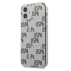 US Polo iPhone 12 mini 5,4 Hülle Mania Logo USHCP12SPCUSPA6