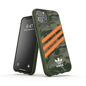 Adidas OR Moulded PU Hülle FW20 iPhone 11 Pro camo signal orange
