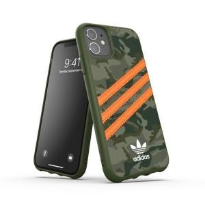 Adidas OR Moulded PU Hülle FW20 iPhone 11 camo signal orange