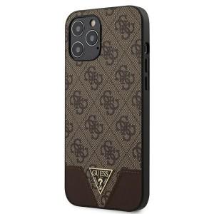 GUESS iPhone 12 Pro Max 6,7 Schutzhülle Triangle Braun