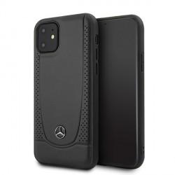 Mercedes iPhone 12 mini 5,4 Lederhülle Urban Line schwarz MEHCP12SARMBK