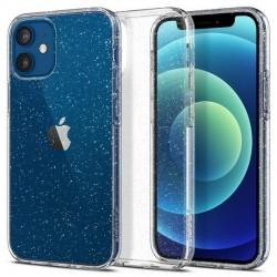 Spigen iPhone 12 mini 5,4 Hülle Liquid Crystal Glitter Clear