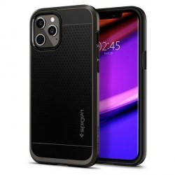 Spigen iPhone 12 Pro Max 6,7 Hülle Neo Hybrid GunMetal