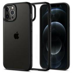 Spigen iPhone 12 Pro Max 6,7 Ultra Hybrid Hülle schwarz matt
