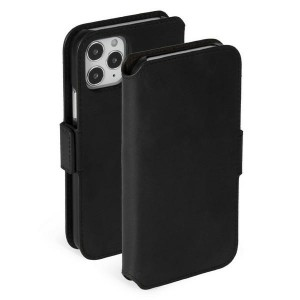 Krusell iPhone 12 / 12 Pro 6,1 Ledertasche Sunne 3 Card PhoneWallet schwarz
