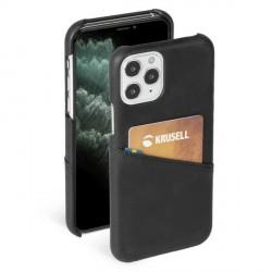 Krusell iPhone 12 / 12 Pro 6,1 Sunne Card Cover / Hülle / Case schwarz