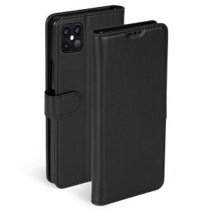 Krusell iPhone 12 / 12 Pro 6,1 PhoneWalet Tasche schwarz