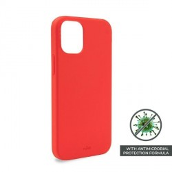 Puro iPhone 12 mini 5,4 ICON AntiMicrobial Cover / Hülle / Case Rot