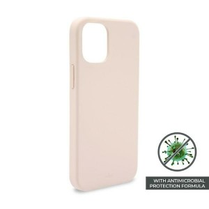Puro iPhone 12 Pro Max 6,7 ICON AntiMicrobial Cover / Hülle / Case Rose
