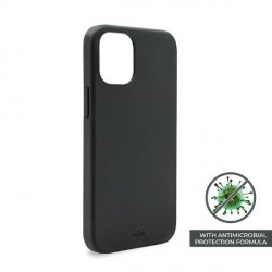 Puro iPhone 12 / 12 Pro 6,1 ICON AntiMicrobial Cover / Hülle / Case schwarz