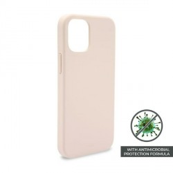 Puro iPhone 12 / 12 Pro 6,1 ICON AntiMicrobial Cover / Hülle / Case Rose