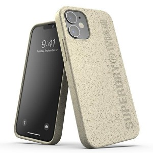 SuperDry iPhone 12 mini Snap Case / Hülle / Cover sand