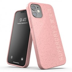 SuperDry iPhone 12 mini Snap Case / Hülle / Cover pink