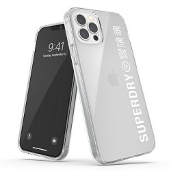SuperDry iPhone 12 / 12 Pro 6,1 Clear Case / Hülle / Cover Clear