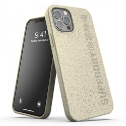 SuperDry iPhone 12 / 12 Pro 6,1 Snap Case / Hülle / Cover sand