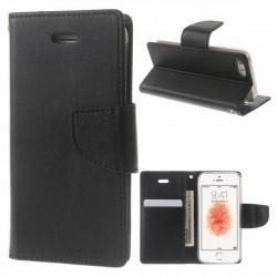 Mercury Bravo iPhone 12 / 12 Pro 6,1 Handytasche schwarz