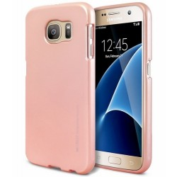 Mercury iPhone 12 / 12 Pro 6,1 i-Jelly Hülle / Case / Cover rose gold