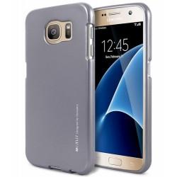 Mercury iPhone 12 / 12 Pro 6,1 i-Jelly Hülle / Case / Cover grau