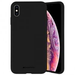 Mercury iPhone 12 mini 5,4 Hülle / Case / Cover Silicone Mikrofaser schwarz