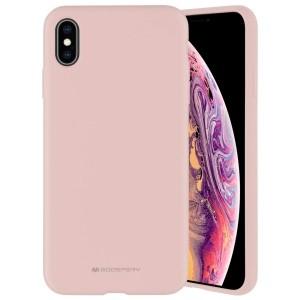 Mercury iPhone 12 mini 5,4 Hülle / Case / Cover Silicone Mikrofaser rose