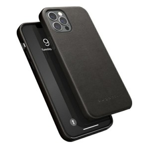 Bugatti iPhone 12 / 12 Pro 6,1 Porto Full Wrap Ledercover schwarz