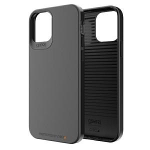 Gear4 iPhone 12 / 12 Pro 6,1 Holborn D3O Hülle / Cover Schwarz