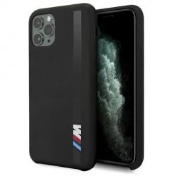 BMW M iPhone 11 Pro Max Vertical Stripe Cover / Case / Hülle schwarz