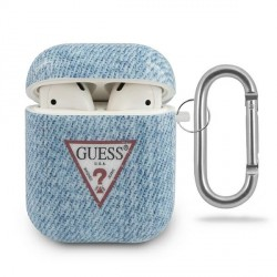 Guess AirPods 1 / 2 cover Jeans Kollektion GUACA2TPUJULLB