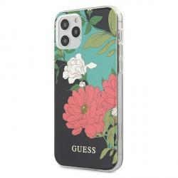 GUESS iPhone 12 Pro Max 6,7 Schutzhülle N1 Flower Kollektion