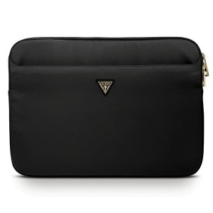 "Guess  Notebook / Tablet Hülle Sleeve 13"" schwarz Triangle Logo GUCS13NTMLBK"