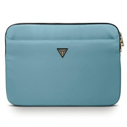 "Guess  Notebook / Tablet Hülle Sleeve 13"" blau Triangle Logo GUCS13NTMLLB"
