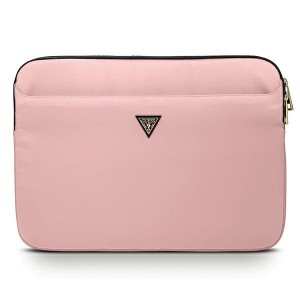 "Guess  Notebook / Tablet Hülle Sleeve 13"" pink Triangle Logo GUCS13NTMLLP"