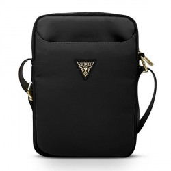 GUESS 10 Zoll Tablet Tasche Triangle Logo schwarz GUTB10NTMLBK