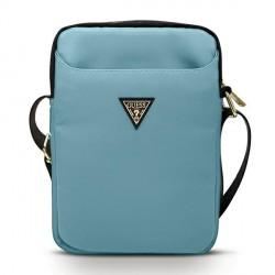 GUESS 10 Zoll Tablet Tasche Triangle Logo Blau GUTB10NTMLLB