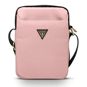 GUESS 10 Zoll Tablet Tasche Triangle Logo Pink GUTB10NTMLLP
