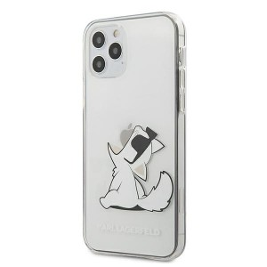 Karl Lagerfeld iPhone 12 Pro Max 6,7 Hülle Choupette Fun Transparent KLHCP12LCFNRC