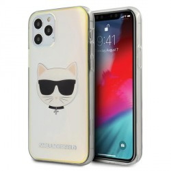 Karl Lagerfeld iPhone 12 Pro Max 6,7 Hülle Multicolor Iridescent Choupette