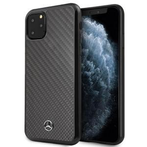 Mercedes Real Carbon Hülle iPhone 11 Pro Max Schwarz MEHCN65RCABK