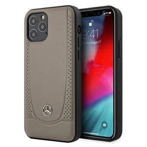 Mercedes iPhone 12 Pro Max Hülle / Cover / Case / Etui Urban Line Braun