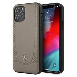 Mercedes iPhone 12 / 12 Pro 6,1 Hülle / Cover / Case / Etui Urban Line Braun